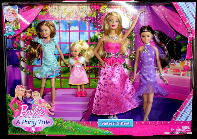 Give Barbie And Her Sisters In A Pony Tale This Year