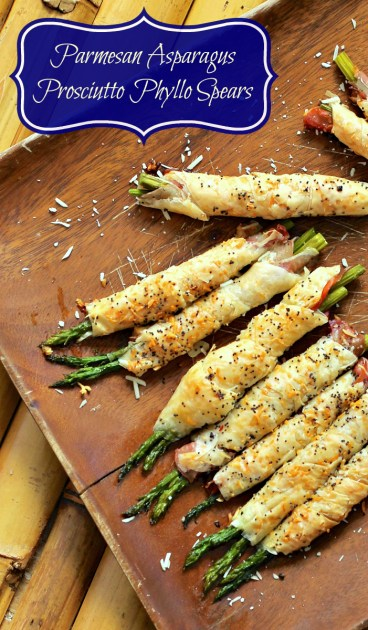 Parmesan Asparagus Prosciutto Phyllo Spears Appetizer Recipe