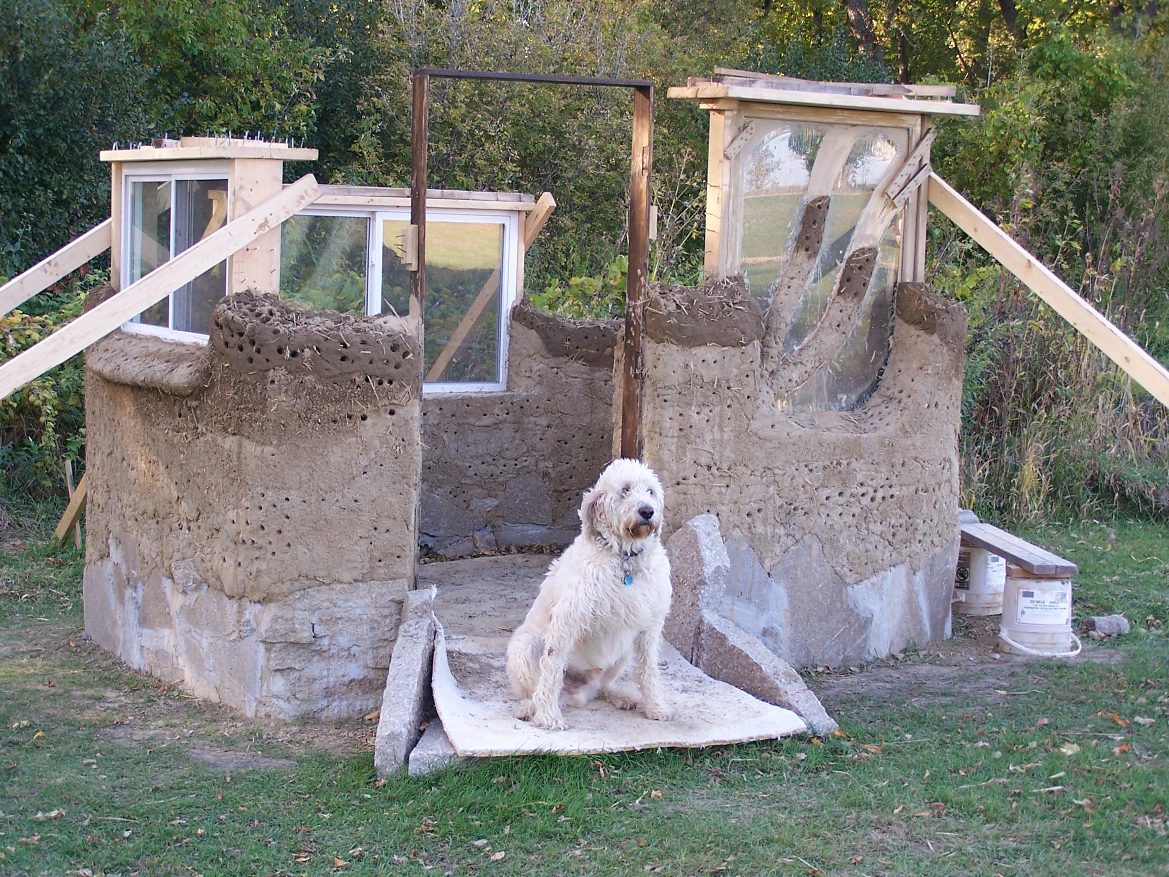 Cob Compost Outhouse Makoce Waste Wiconi Waste Sweet