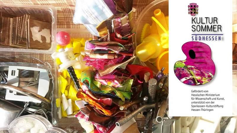 Kultursommer_Recyclingmaterialien
