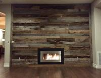 93+ Reclaimed Wood Wall Fireplace - Fireplace With ...