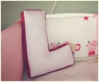 Jastuk u obliku slova / Letter shaped pillow | Mala ...