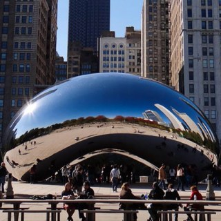 Chicago The Bean - Cloud Gate home
