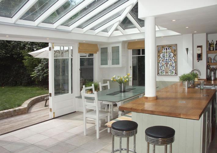 kitchen extension conservatory kew richmond small eat kitchen option extension