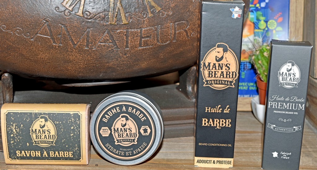 Les soins à barbe Man's Beard