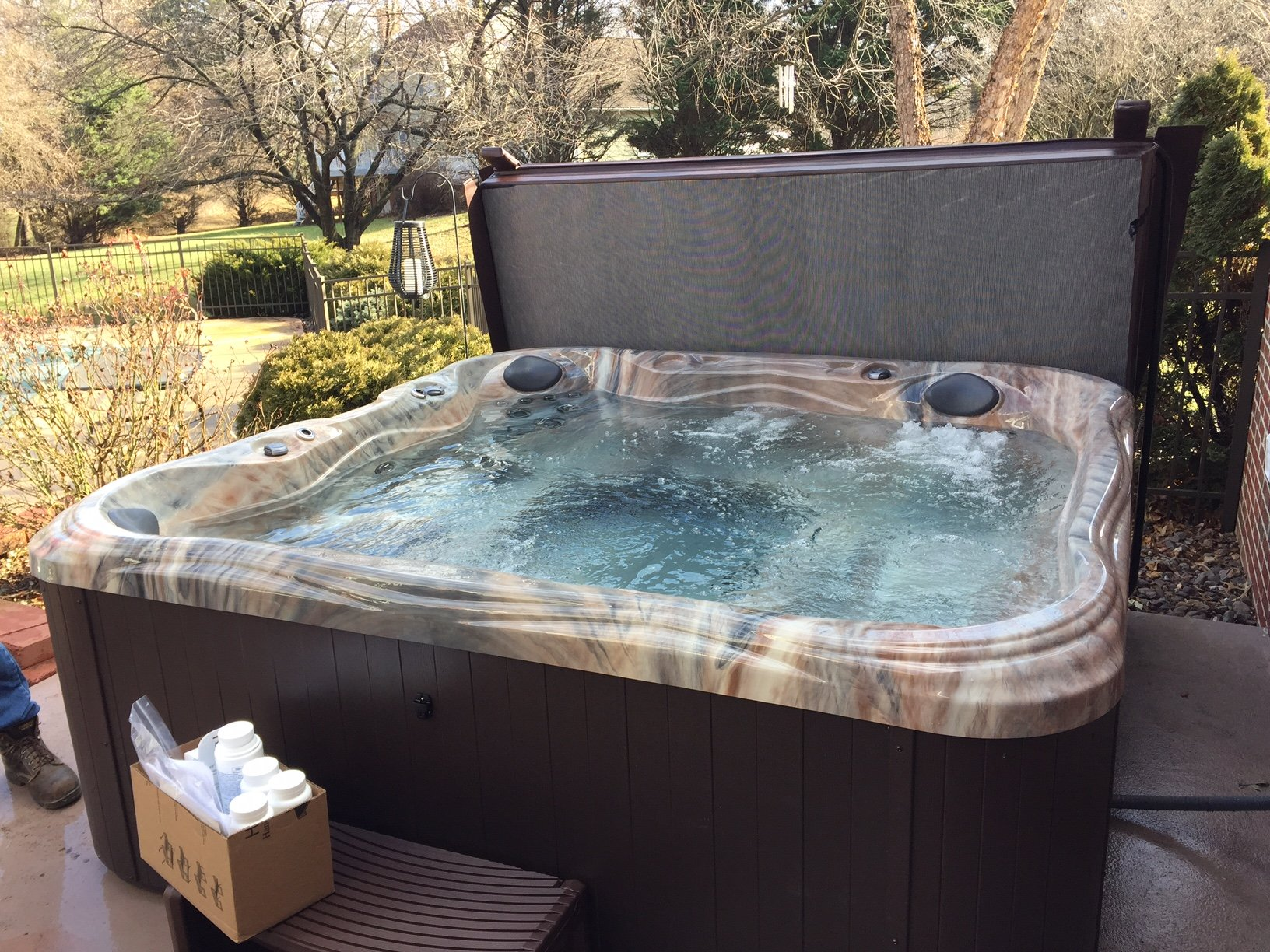 Jacuzzi Pool Service Hot Tubs Beat Winter Blues Spa Warehouse