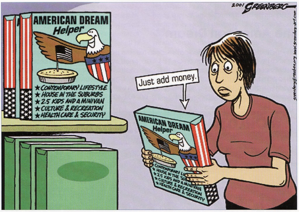 Real Estate Resume%0A     A cartoon showing that money is essential to achieve the American  real  estate market analysis