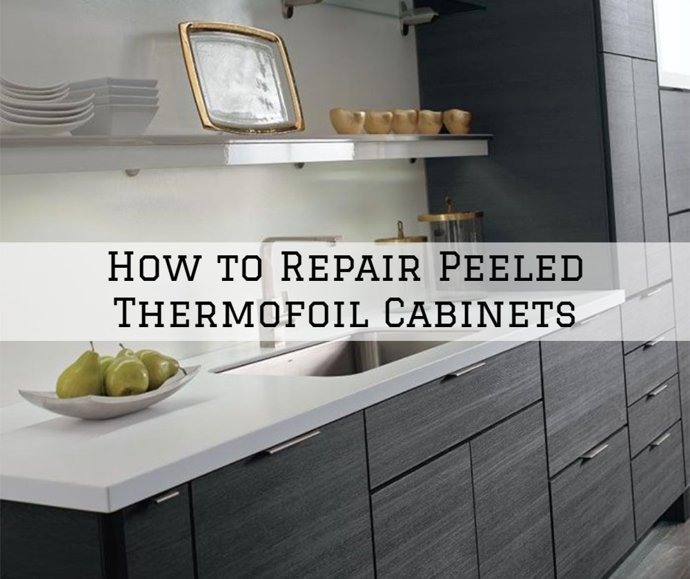 How To Repair Peeled Thermofoil Cabinets In Sherwood Oregon Maller Painting Company Beaverton Or