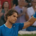 Rafa Nadal vence en Madrid