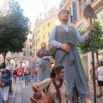 El IX encuentro de gigantes de Santa Maria inaugurará los WineDays Mallorca 2015