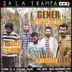 """El grupo valenciano 'Gener' presenta su último trabajo """"El temps del llop"""" en el buque de Baleària"""