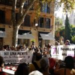 500 voces en Palma contra la violencia machista