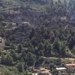 Estabilizado el incendio de Cala Tuent que no ha afectado a ninguna vivienda
