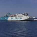 Baleària ofrece más de 30.000 plazas en las conexiones hacia Ciutadella en las fiestas de Sant Joan