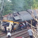 Al menos cuatro muertos y 50 heridos por un accidente de tren en Pontevedra