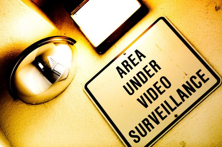 """""""Area Under Video Surveillance"""" by Thomas Hawk @Flickr"""