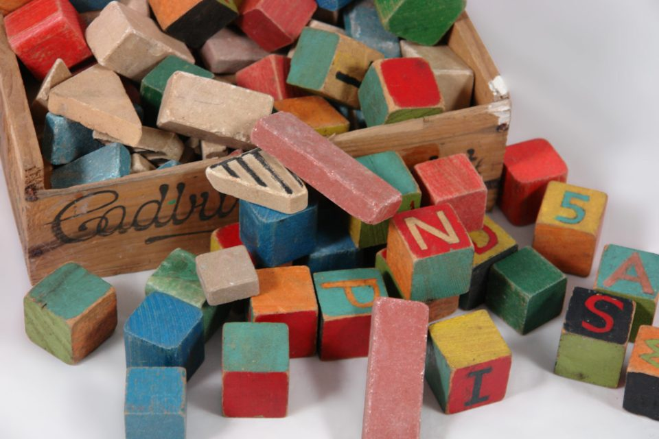 """""""Vintage children's blocks"""" by H is for Home @Flickr"""