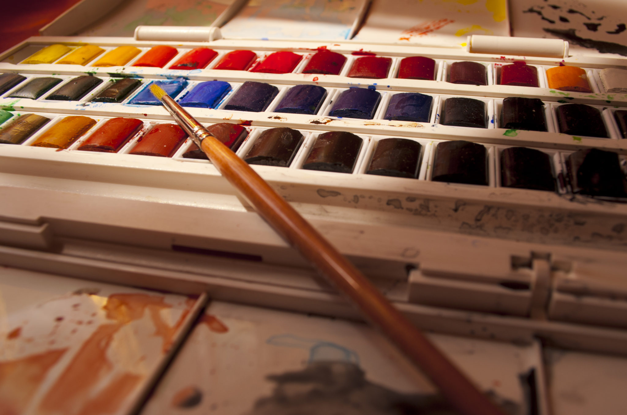 """""""my Watercolor kit"""" by Steven Correy @Flickr"""