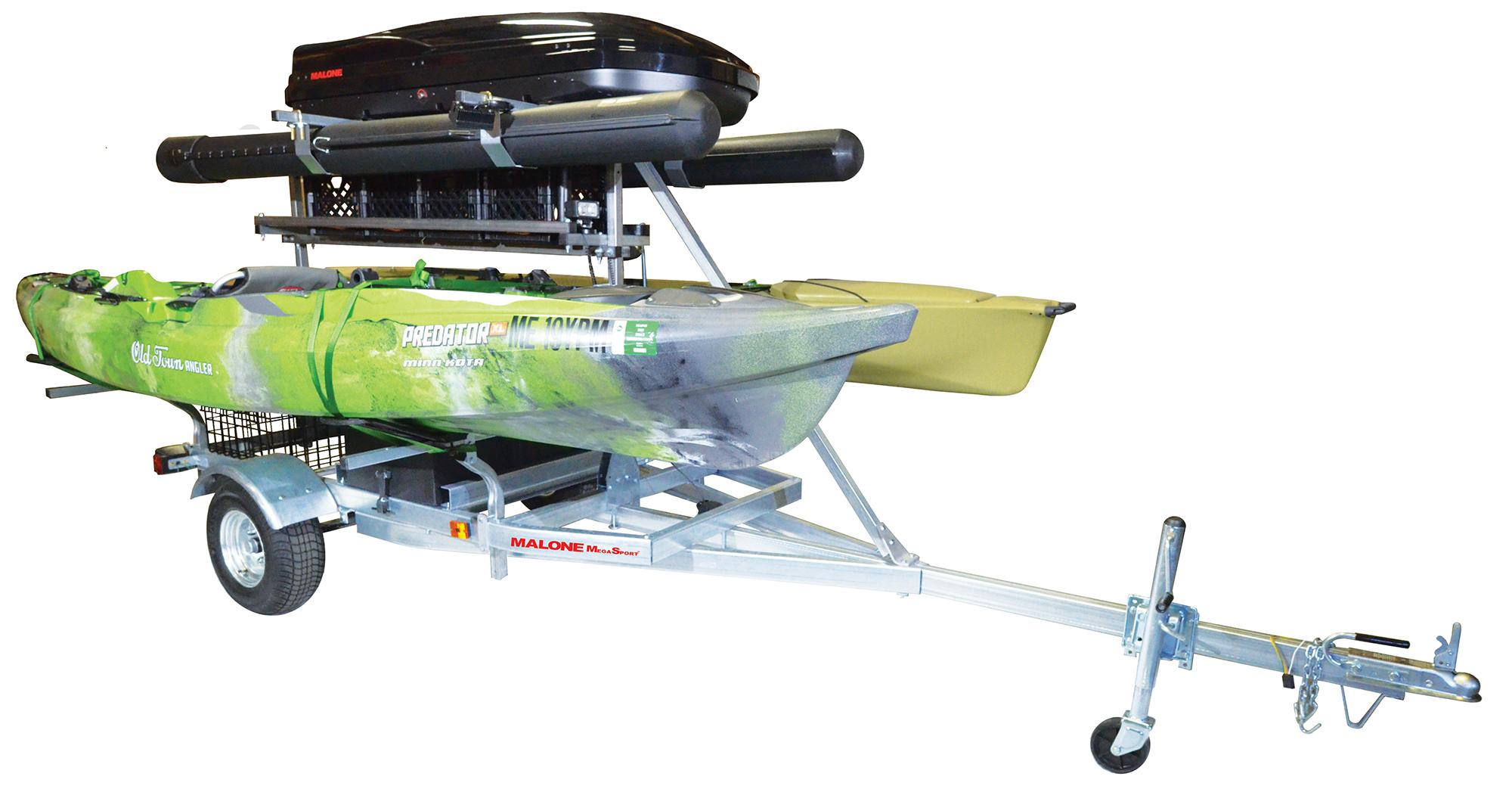 Megasport Kayak Trailer W 86quot Load Bars