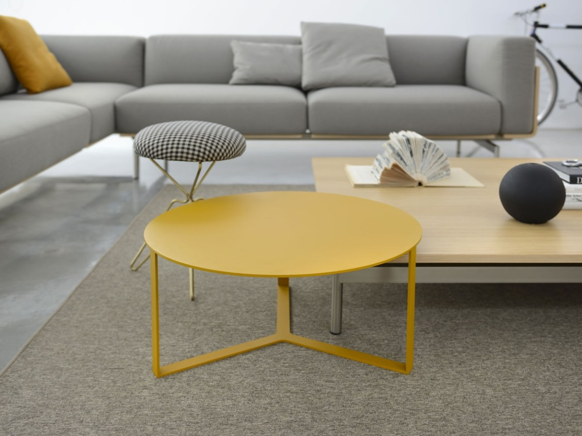 Salon Jaune Moutarde Table Basse Salon Jaune Moutarde 3 Pieds Malouet Design