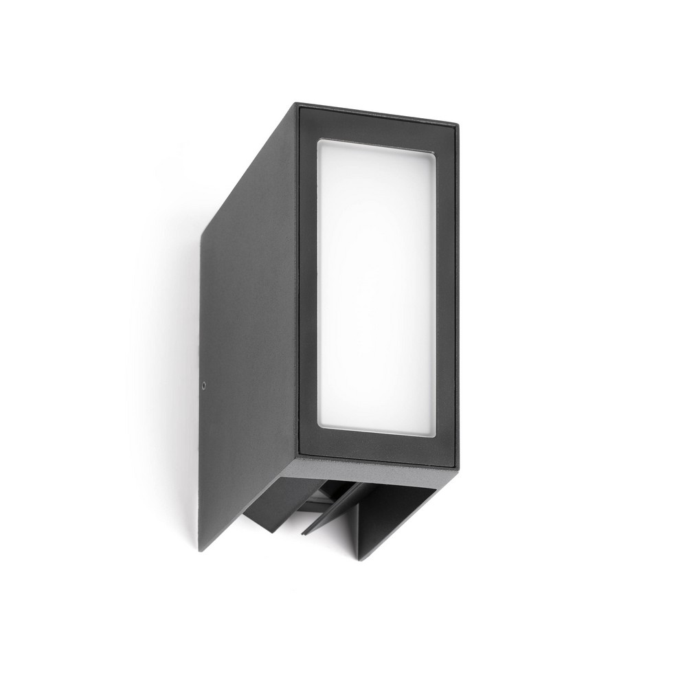 Applique Murale Exterieur Double Faisceau Log : Applique Led Exterieur Grise Anthracite Double