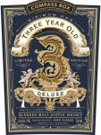 News: Compass Box Three Year Old Deluxe (51.6%)