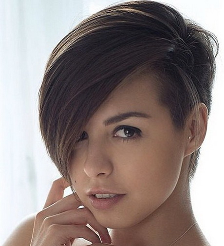 Kurzhaarfrisuren Damen Cut Undercut Kurzhaarfrisuren