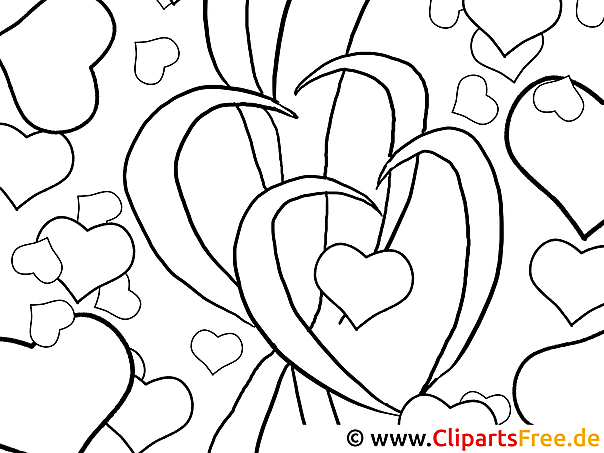 Mandala Zum Ausmalen Valentinstag Free Printable Abstract Coloring