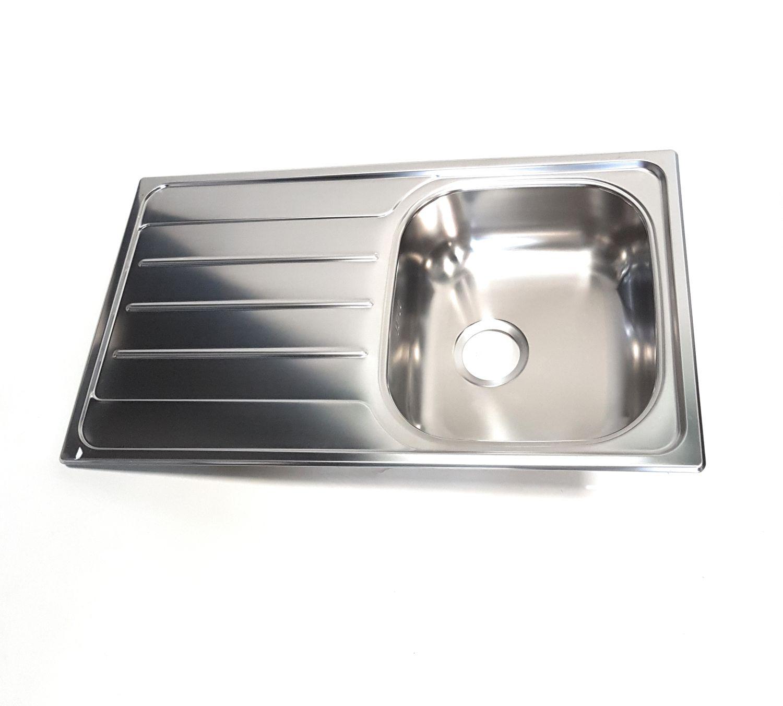 Waschbecken Küche Edelstahl
