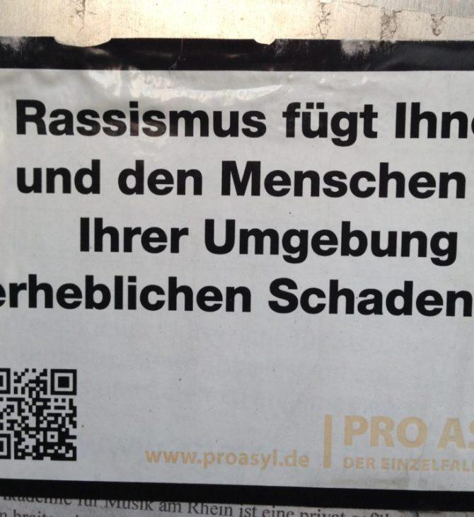 Gegen Rassismus - Refugees Welcome
