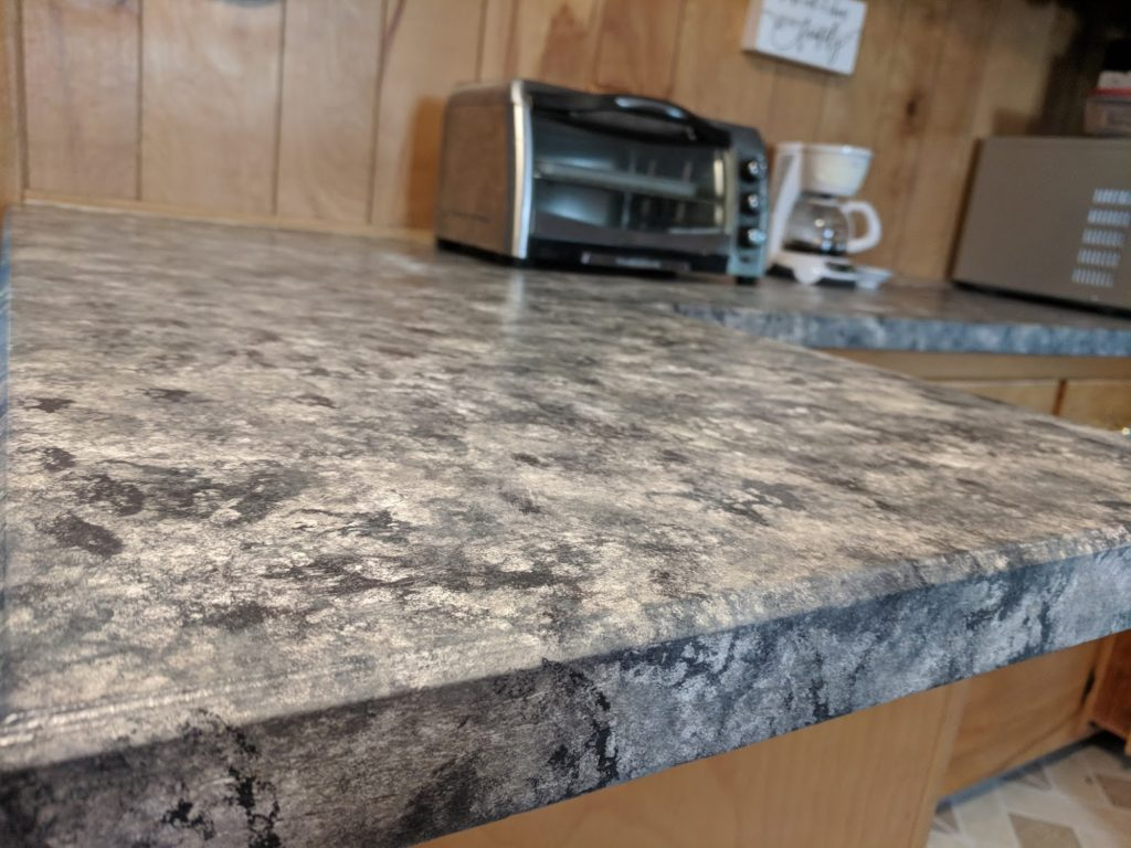 Ugly Granite Countertops How To Paint Your Countertops Like Granite
