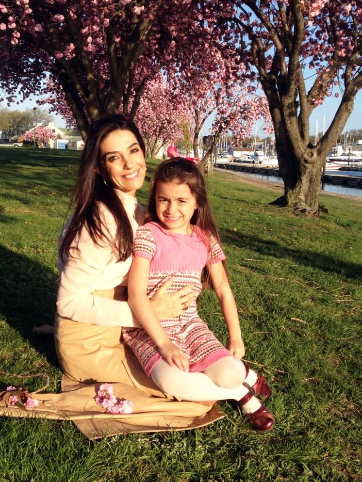 Kika Rocha y su hija Victoria