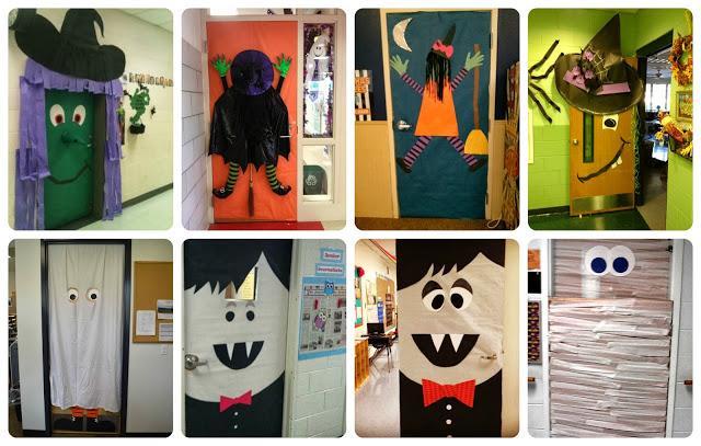 Ideas para decorar en halloween mam extrema for Ideas puertas salon