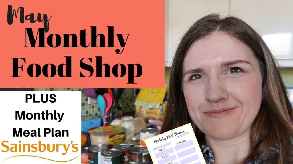 May Meal Plan  Shopping Haul for family of 4 Grocery Shopping on