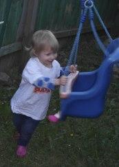 Twiddling on the swing