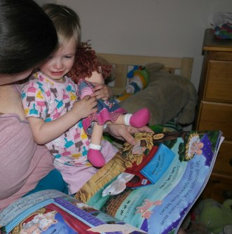 Bedtime story with Melody