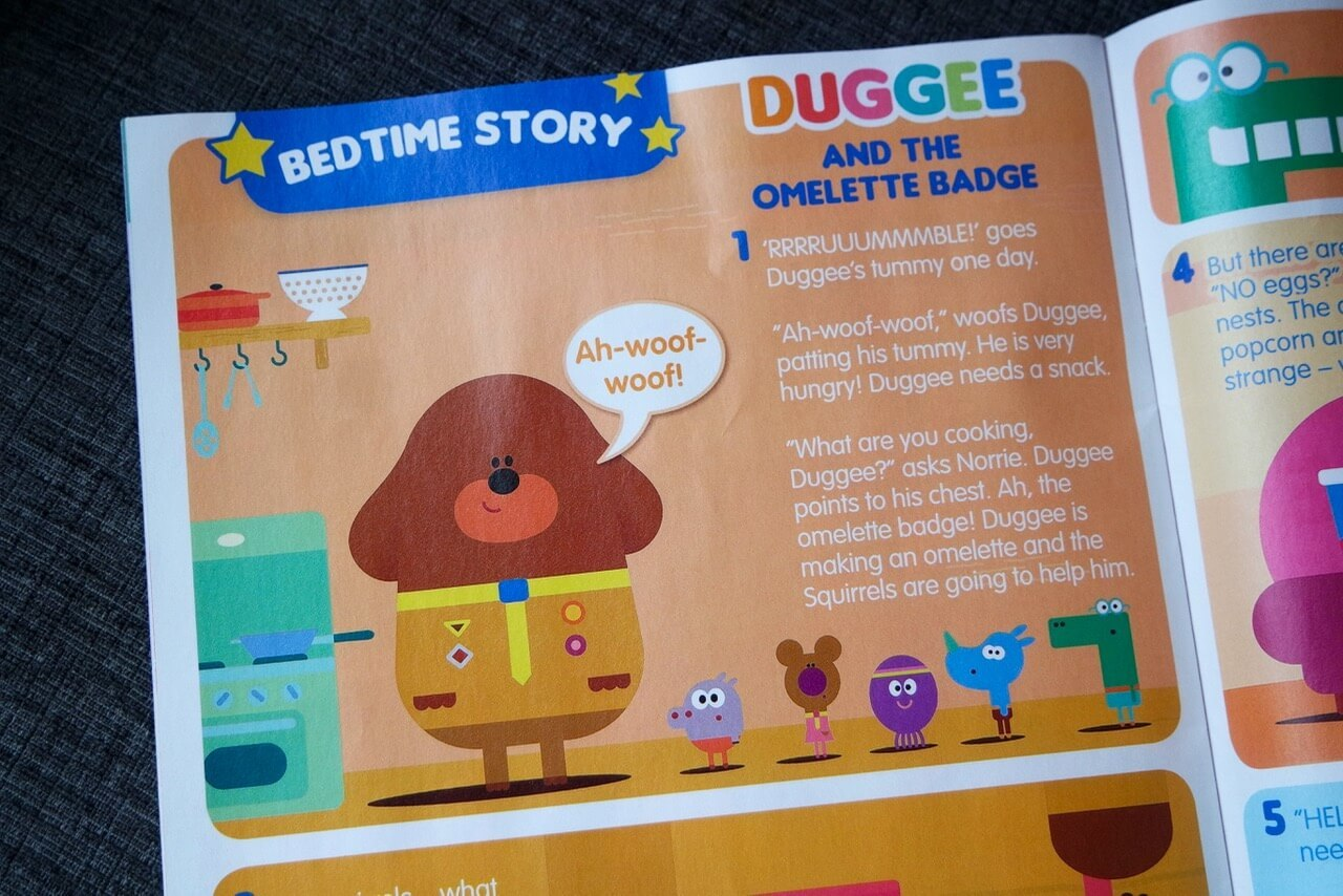 Hey Magazin Review Hey Duggee Magazine Mama Geek