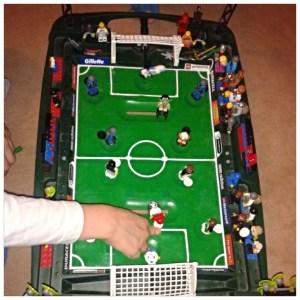 Lego Fußballspiel