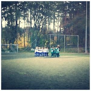 Fußballspiel F Jugend