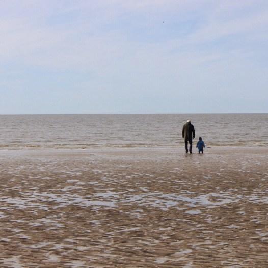 Strandspaziergang Dänemark