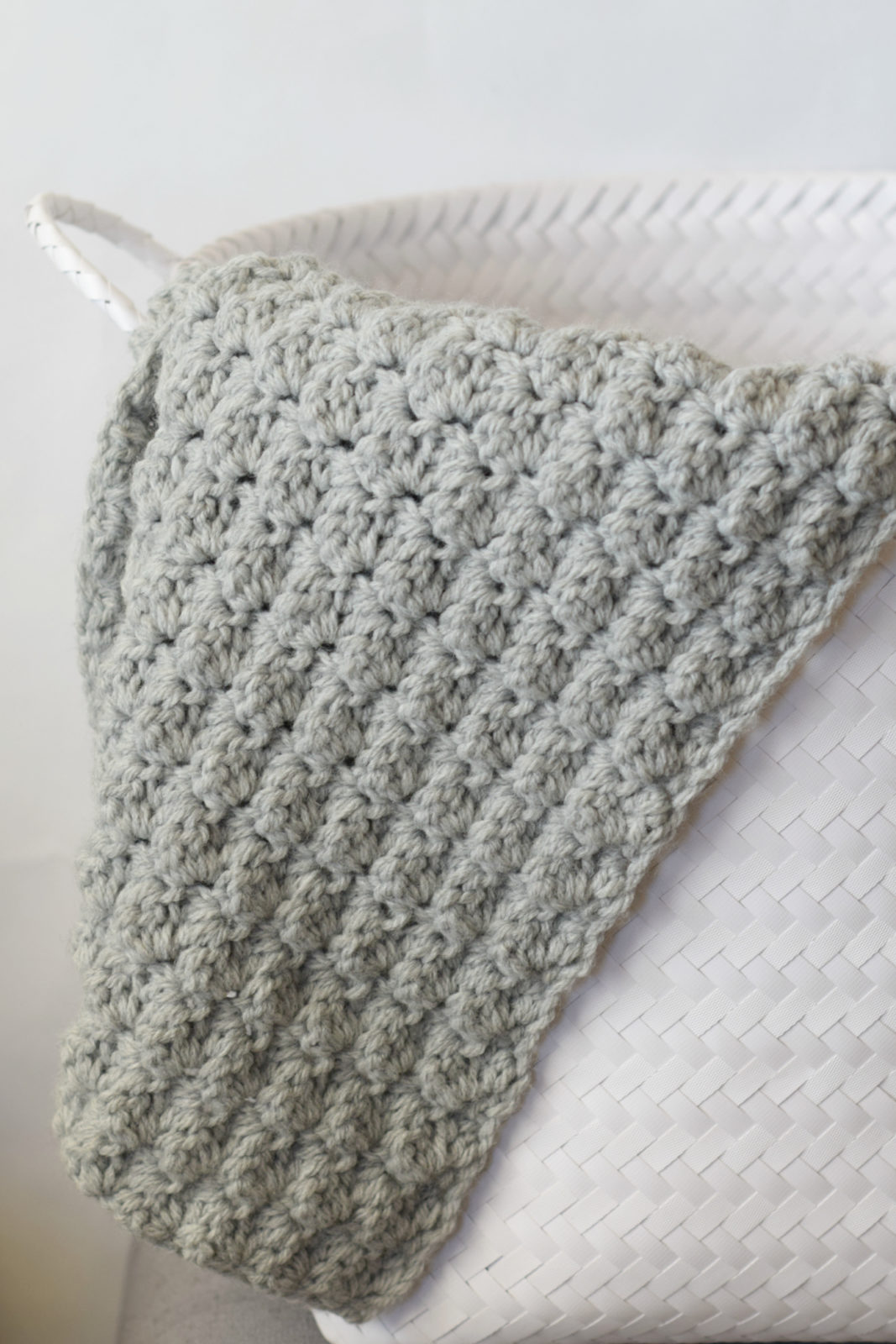 Crocheted Baby Blankets Simple Crocheted Blanket Go To Pattern Mama In A Stitch