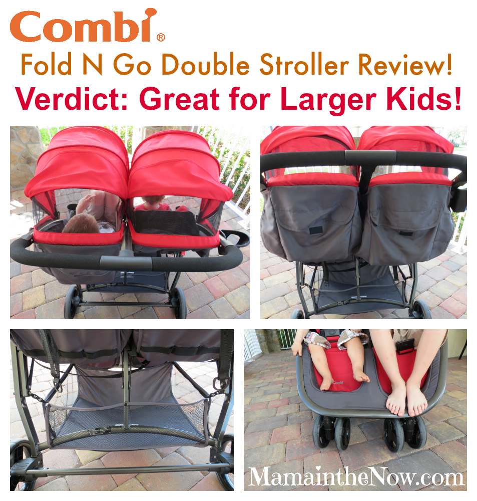 Combi Double Stroller Side By Side Combi Usa Fold N Go Double Stroller Review