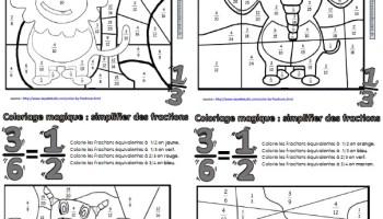 coloriage magique de multiplication ma maitresse de cm1 cm2