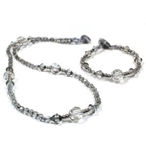 Bella teething fiddle necklaceand bracelet gift set silver 001 - Bella Nursing Breastfeeding fiddle necklace and bracelet mid length silver gift set
