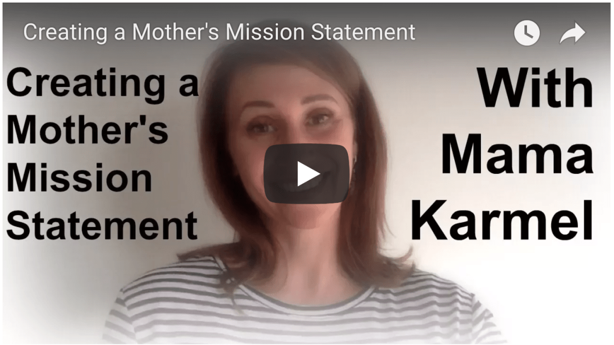 How to Create a Mother Mission Statement