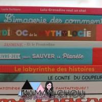 Les livres de Novembre