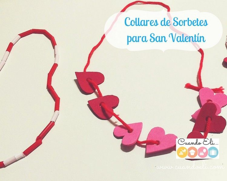 Collares de Sorbetes para San Valentín