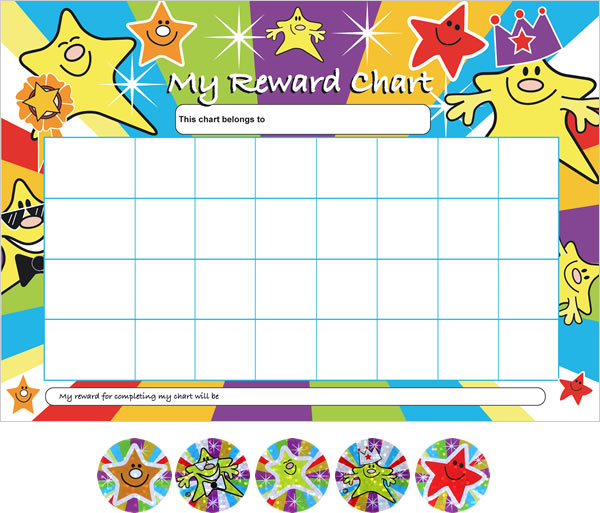 Positive Behavior Reward Chart \u2013 Mama Shew
