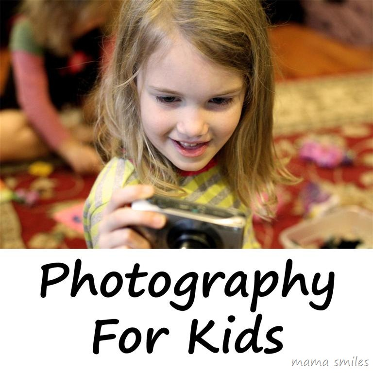 Photography for Kids Benefits of letting your kid use your camera!