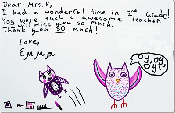 Heartfelt Thank You Notes for Teachers ~ Mama Smiles